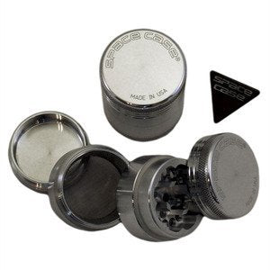 AEROSPACED 5 Piece Grinders / Sifters (Double Screen) - VapesRush