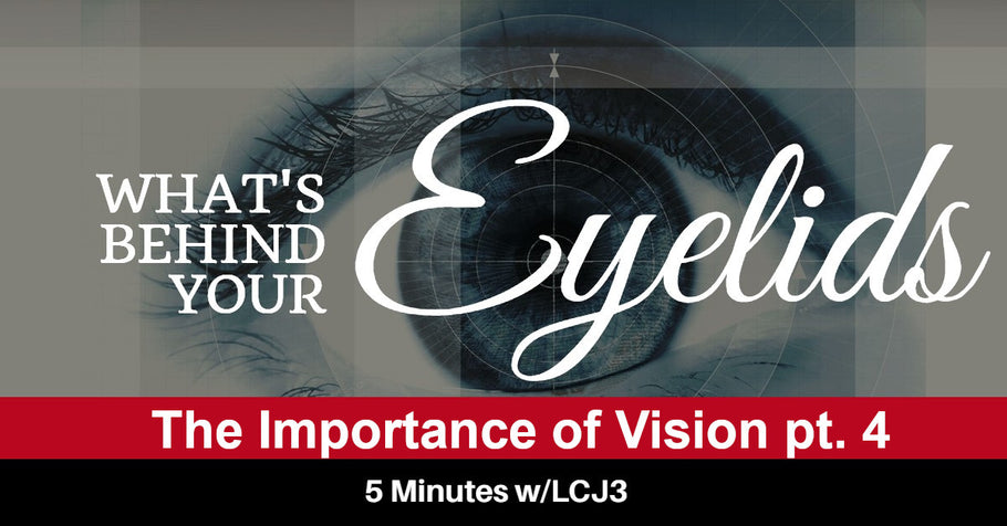 What Behind Your Eyelids - The Importance of Vision pt. 4