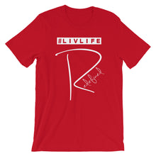 Load image into Gallery viewer, #LivLifeRedefined Unisex Tee