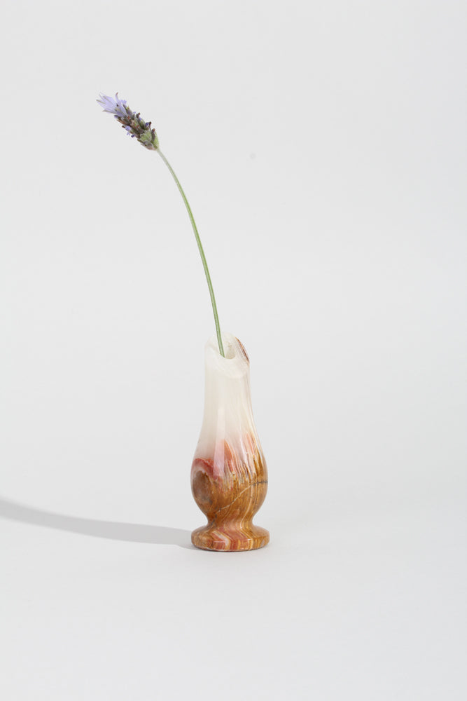 SINGLE STEM MARBLE VASE | SWEET CHARITY STORE | AUCKLAND NZ