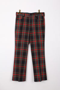 FARAH CHECK PANTS, SIZE M | SWEET CHARITY STORE | AUCKLAND NZ