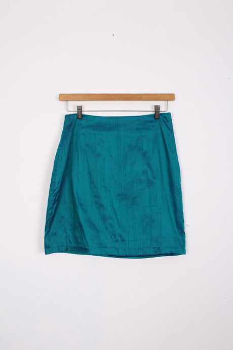METALLIC SKIRT, SIZE 10 | SWEET CHARITY STORE | AUCKLAND NZ