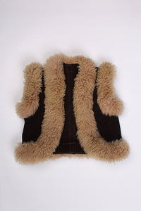 FLUFFY SUEDE VEST, 2-3Y | SWEET CHARITY STORE | AUCKLAND NZ