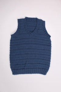 BLUE STRIPED VEST, 6Y | SWEET CHARITY STORE | AUCKLAND NZ