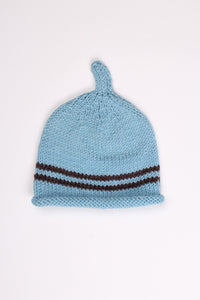 HAND-KNITTED ALFALFA BEANIE, 3-9M | SWEET CHARITY STORE | AUCKLAND NZ