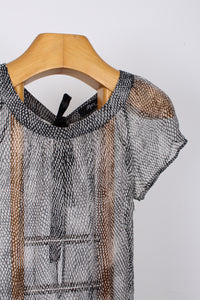 MAX SHEER SILK TOP, SIZE 10 | SWEET CHARITY STORE | AUCKLAND NZ