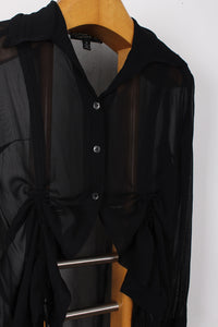 FRANCES ROOD SHEER BLOUSE, SIZE M | SWEET CHARITY STORE | AUCKLAND NZ