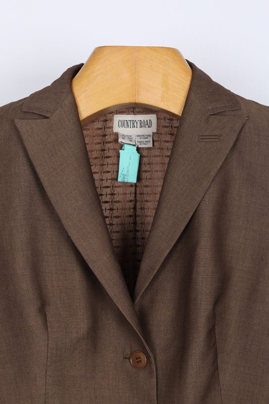 COUNTRY ROAD WOOL BLEND BLAZER, SIZE 14 | SWEET CHARITY STORE | AUCKLAND NZ