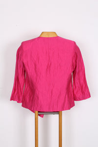 HOT PINK FREDRIK JACKET, SIZE 10
