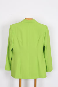 VINTAGE LIME GREEN JACKET, SIZE 12 | SWEET CHARITY STORE | AUCKLAND NZ