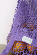 COTTON STRING MARKET BAG, LILAC | SWEET CHARITY STORE | AUCKLAND NZ