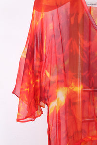 WAYNE COOPER SILK FIRE DRESS, SIZE 3 | SWEET CHARITY STORE | AUCKLAND NZ
