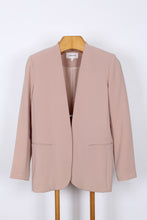JULIETTE HOGAN BLUSH BLAZER, SIZE 12 | SWEET CHARITY STORE | AUCKLAND NZ