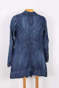 MARITHE FRANCOIS GIRBAUD DENIM JACKET, SIZE 44 | SWEET CHARITY STORE | AUCKLAND NZ