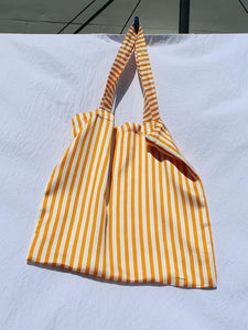 SWEET CHARITY X MAGGIE MARILYN TOTE BAG, YELLOW STRIPE | SWEET CHARITY STORE | AUCKLAND NZ
