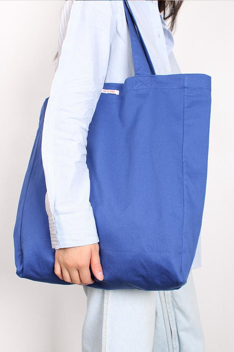 SWEET CHARITY X MAGGIE MARILYN TOTE BAG, BLUE | SWEET CHARITY STORE | AUCKLAND NZ