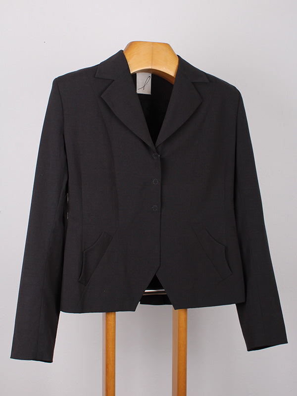 NZ MADE GREY JACKET WITH DETAIL POCKETS | SWEET CHARITY STORE | AUCKLAND NZ