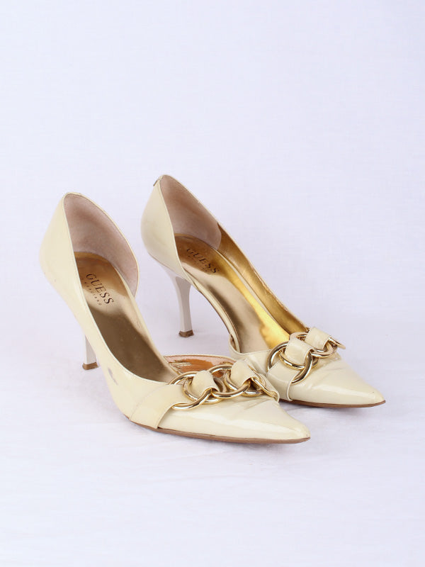 GUESS POINTED HEEL, SIZE 7 | SWEET CHARITY STORE | AUCKLAND NZ