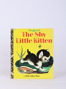THE SHY LITTLE KITTEN, CATHLEEN SCHURR | SWEET CHARITY STORE | AUCKLAND NZ