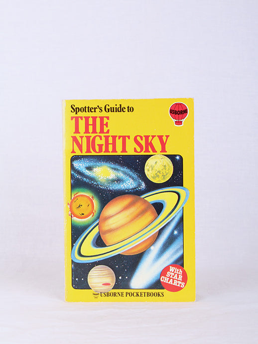 SPOTTER'S GUIDE TO THE NIGHT SKY, USBORNE POCKETBOOK SPOTTER'S GUIDE TO THE NIGHT SKY, USBORNE POCKETBOOK | SWEET CHARITY STORE | AUCKLAND NZ