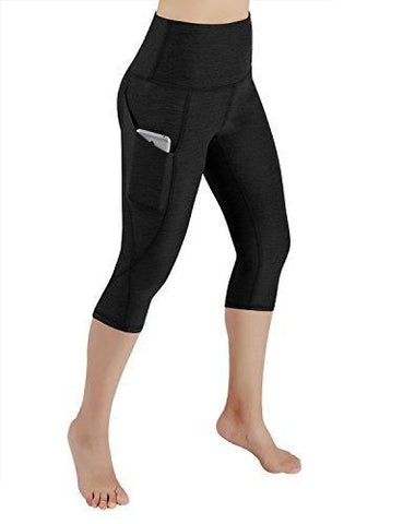 High Waist Out Pocket Yoga Pants Leggings Small / Yogapocketcapris714-Black2 Free Shipping