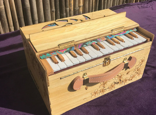 Beautiful Sounds Healing Instruments Portable Harmoniums 2nd Street