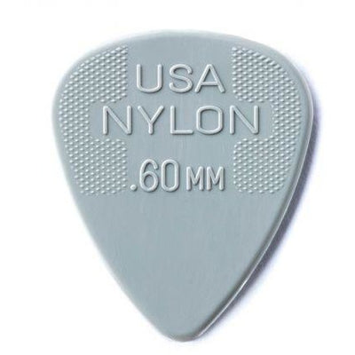 Dunlop Nylon Standard Guitar Picks 0.60mm - 12 Pack