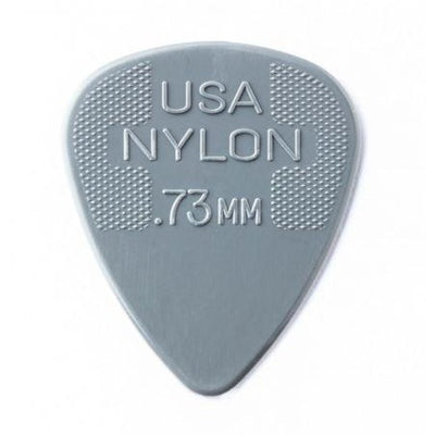 Dunlop Nylon Standard Guitar Picks 0.73mm - 12 Pack
