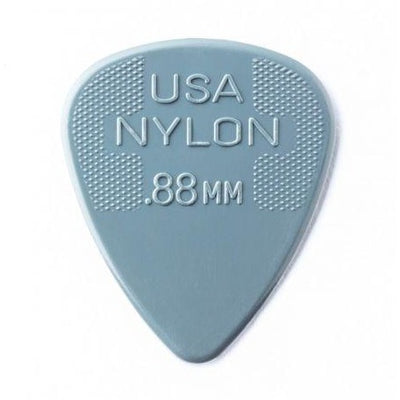 Dunlop Nylon Standard Guitar Picks 0.88mm - 12 Pack
