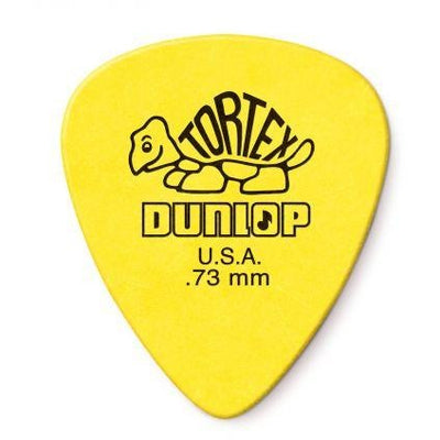 Dunlop Tortex Standard Guitar Picks 0.73mm - 12 Pack