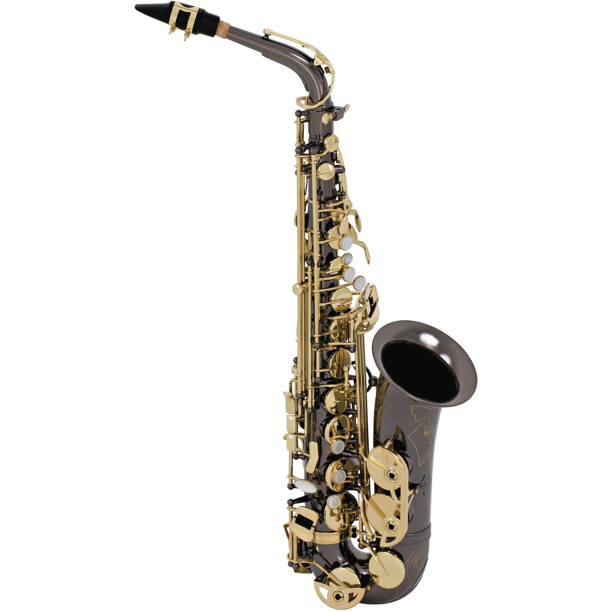 Selmer LaVoix II Alto Saxophone Outfit - Black Nickel | Kincaid's Is Music
