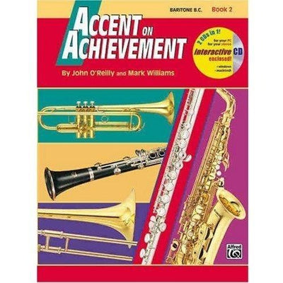 Accent on Achievement - Book 2 & CD | Kincaid's Is Music