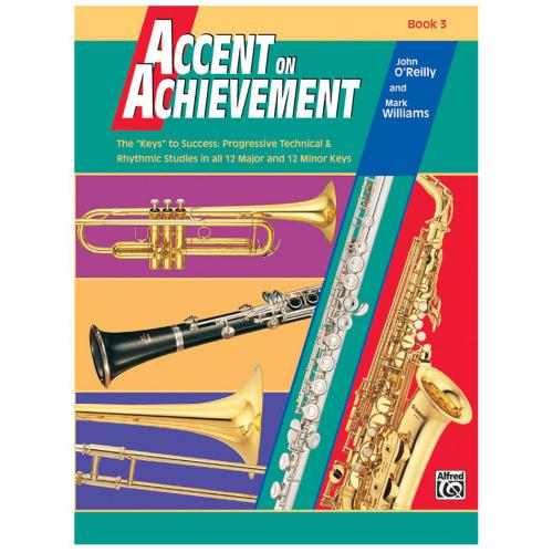 Accent on Achievement - Book 3 & CD | Kincaid's Is Music