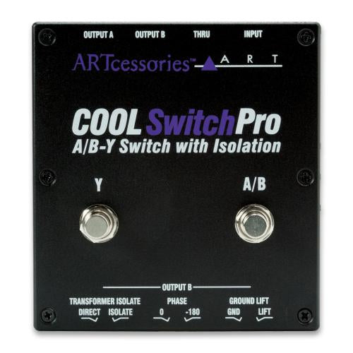 ART Cool Switch-Pro A/B-Y Switch with Isolation | Kincaid's Is Music
