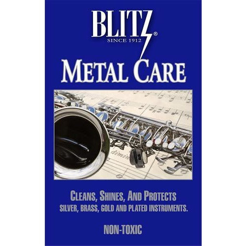 Blitz Metal Care Silver Polishing Cloth | Kincaid's Is Music