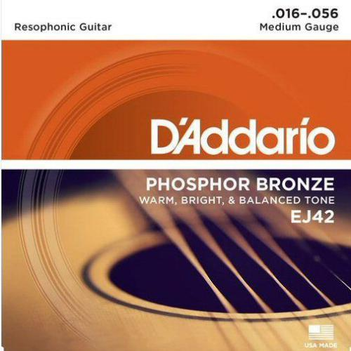 D'Addario EJ42 Resophonic Guitar Strings | Kincaid's Is Music