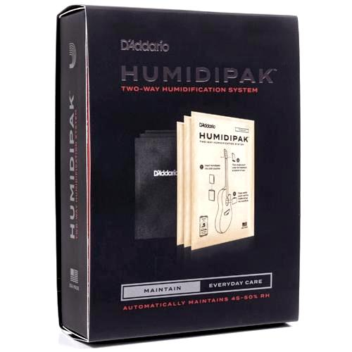 D'Addario Humidipak Two-Way Humidification System