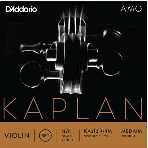 D'Addario Kaplan Amo 4/4 Violin String Set | Kincaid's Is Music