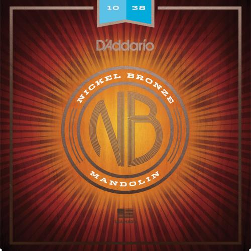 D'Addario Nickel Bronze Mandolin Strings - Light | Kincaid's Is Music