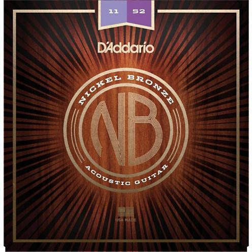D'Addario Nickel Bronze Acoustic Guitar Strings | Kincaid's Is Music