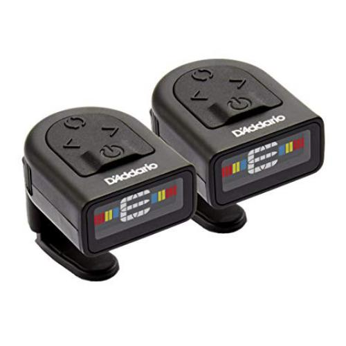 D'Addario NS Micro Clip-On Tuner - 2-Pack