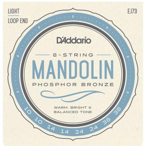 D'Addario Phosphor Bronze Mandolin Strings - Light Gauge | Kincaid's Is Music