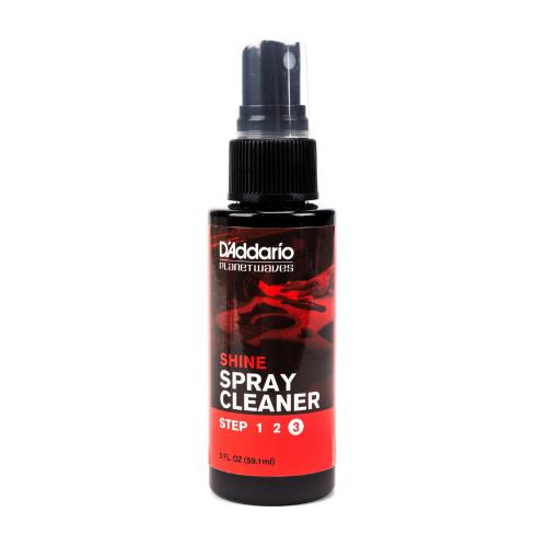 D'Addario Planet Waves Shine Spray Cleaner, 2 oz | Kincaid's Is Music