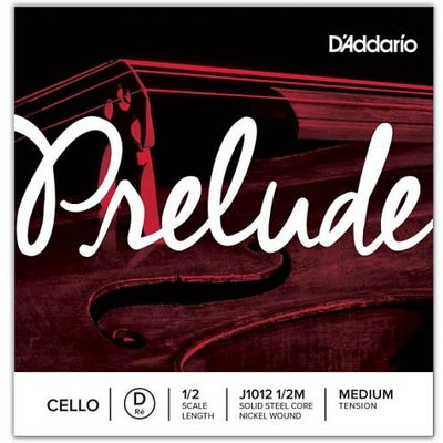 D'Addario Prelude Individual Cello Strings | Kincaid's Is Music