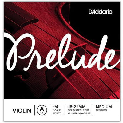D'Addario Prelude Individual Violin Strings | Kincaid's Is Music