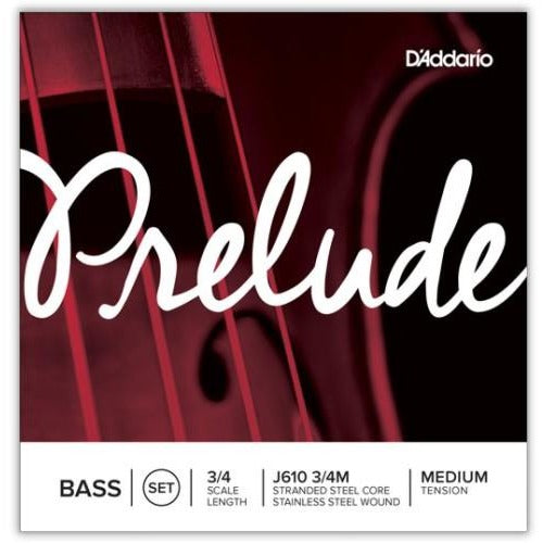 D'Addario Prelude Bass Strings Set | Kincaid's Is Music