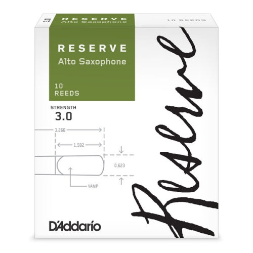 D'Addario Reserve Alto Saxophone Reeds | Kincaid's Is Music