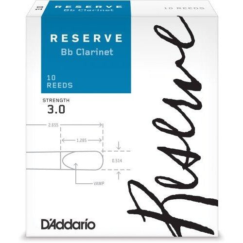 D'Addario Reserve Bb Clarinet Reeds | Kincaid's Is Music