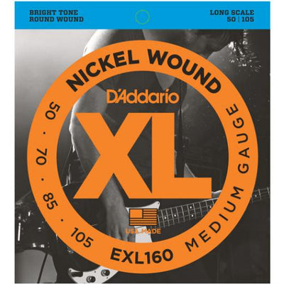 D'Addario XL Nickel Wound Long Scale Bass Guitar Strings | Kincaid's Is Music