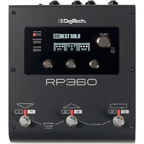 DigiTech RP360 Guitar Multi Effects Pedal | Kincaid's Is Music